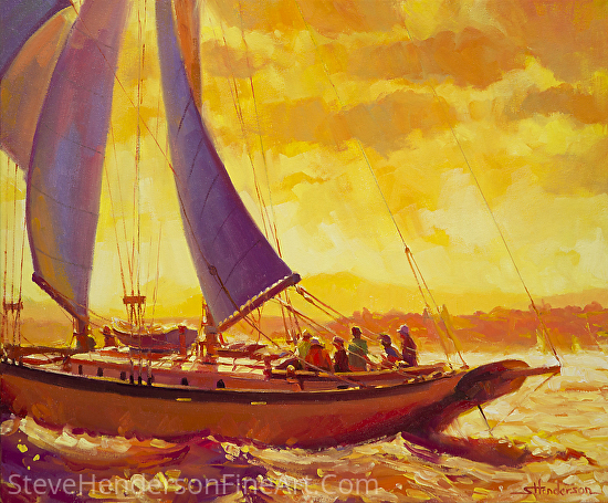Golden Opportunity -- Licensed Open Edition Art Print at Great Big Canvas, All Posters, Art.com, Amazon.com, Framed Canvas Art, and iCanvasART by Steve Henderson  ~  x