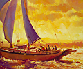 Golden Opportunity -- Licensed Open Edition Art Print at Great Big Canvas, iCanvasART, and Amazon.com by Steve Henderson  ~  x