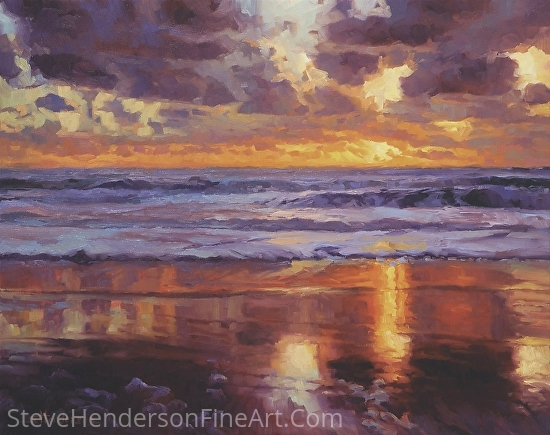 On The Horizon -- Licensed Open Edition Art Print at Framed Canvas Art and Great Big Canvas by Steve Henderson  ~  x