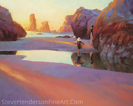 Reflection -- Licensed Art Print at Great Big Canvas, Framed Canvas Art, Vision Art Galleries, and iCanvasART by Steve Henderson  ~  x