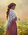 Queen Anne's Lace -- Licensed Open Edition Art Print at Great Big Canvas, iCanvasART, and Framed Canvas Art by Steve Henderson  ~  x