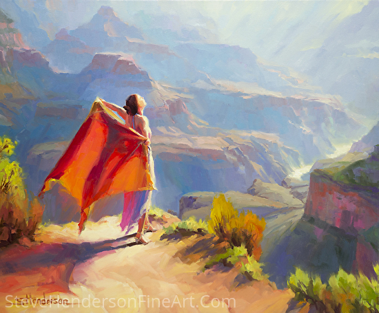 Eyrie -- Licensed Open Edition Art Print at Great Big Canvas, Framed Canvas Art and iCanvasART by Steve Henderson  ~  x