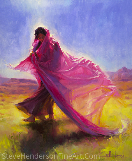 Mesa Walk -- Licensed Open Edition Art Print at Framed Canvas Art, Great Big Canvas, iCanvasART, and Light in the Box by Steve Henderson  ~  x