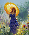 Promenade -- Licensed Open Edition Print at Great Big Canvas and iCanvasART by Steve Henderson  ~  x