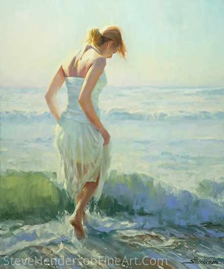 Gathering Thoughts -- Licensed Open Edition Art Print at Great Big Canvas, Art.com, AllPosters.com, Amazon.com, Framed Canvas Art, and iCanvasART by Steve Henderson  ~  x