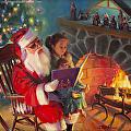 Christmas Story -- Original, Prints, Poster, Greeting Card by Steve Henderson  ~  x