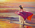 Catching the Breeze -- Licensed Open Edition Art Print at Great Big Canvas and iCanvasART by Steve Henderson  ~  x