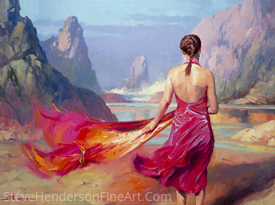 Cadence -- Licensed Art Print at Great Big Canvas, Amazon.com, Art.com, Vision Art Galleries, Framed Canvas Art, and iCanvasART by Steve Henderson  ~  x