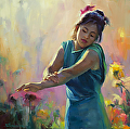 Enchanted -- Licensed Open Edition Print at Great Big Canvas, iCanvasART, and Amazon.com by Steve Henderson  ~  x