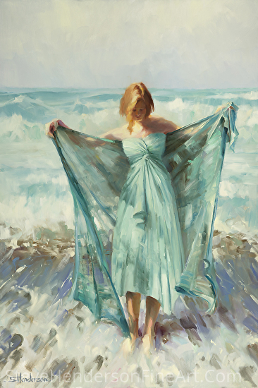 Aphrodite -- Licensed Open Edition Print at Great Big Canvas and Framed Canvas Art by Steve Henderson  ~  x