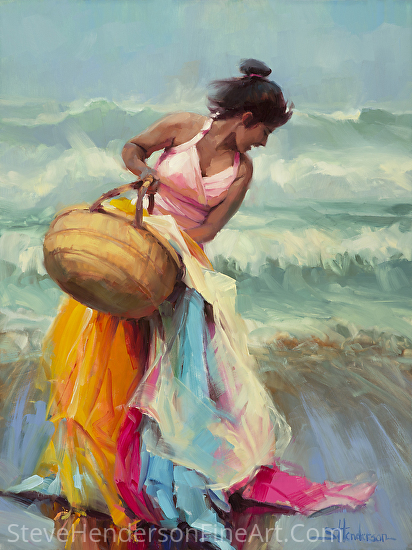 Brimming Over -- Licensed open edition print at Great Big Canvas and Framed Canvas Art by Steve Henderson  ~  x