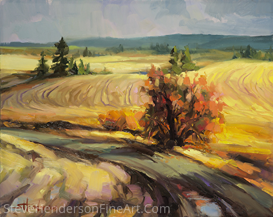 Highland Road -- Licensed Open Edition Print at Light in the Box and Framed Canvas Art by Steve Henderson  ~  x