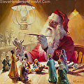 These Gifts Are Better Than Toys -- licensed open edition print at iCanvasART, Greeting Card at Give Write Cards by Steve Henderson  ~  x