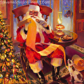 The Christmas List -- licensed open edition print at ICanvasART by Steve Henderson  ~  x