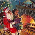 Christmas Story -- licensed open edition print at iCanvasART and Amazon.com by Steve Henderson  ~  x