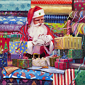 All Wrapped Up -- Original Paintings, Signed Limited Edition Print, Open Edition Poster by Steve Henderson  ~  x