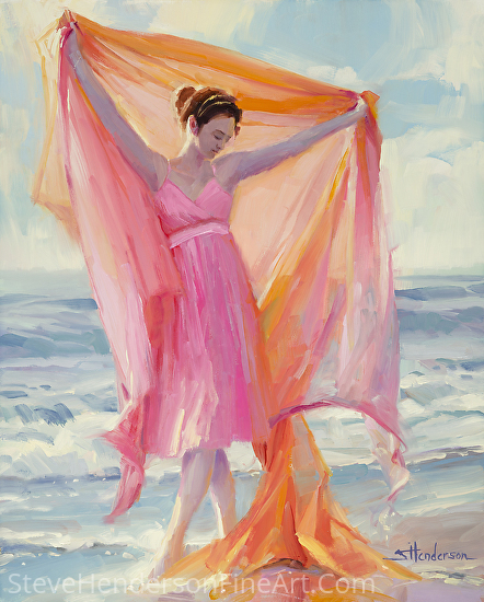 Grace -- licensed, open edition print at Framed Canvas Art by Steve Henderson  ~  x