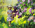 Lilac Festival -- licensed art print at Framed Canvas Art, Amazon.com, and Vision Art Galleries by Steve Henderson  ~  x
