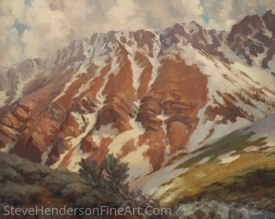 Chief Joseph Mountain by Steve Henderson Oil ~ 24 x 30