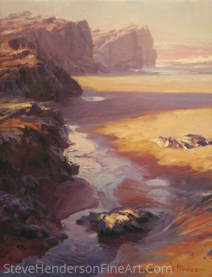 Expos� by Steve Henderson Oil ~ 18 x 14