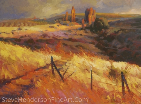 Incandescence by Steve Henderson Oil ~ 18 x 24