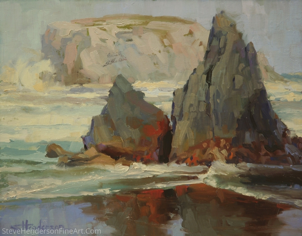 Morningtide by Steve Henderson Oil ~ 11 x 14
