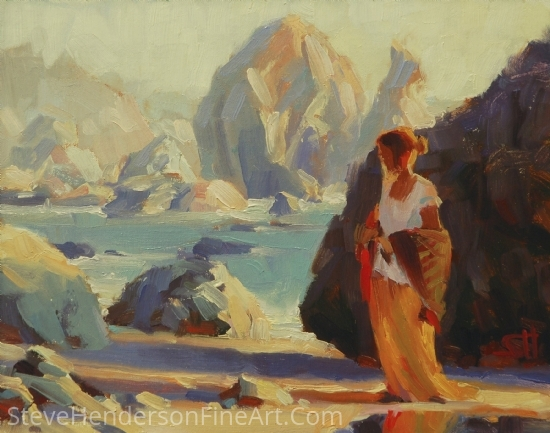 Musings by Steve Henderson Oil ~ 8 x 10