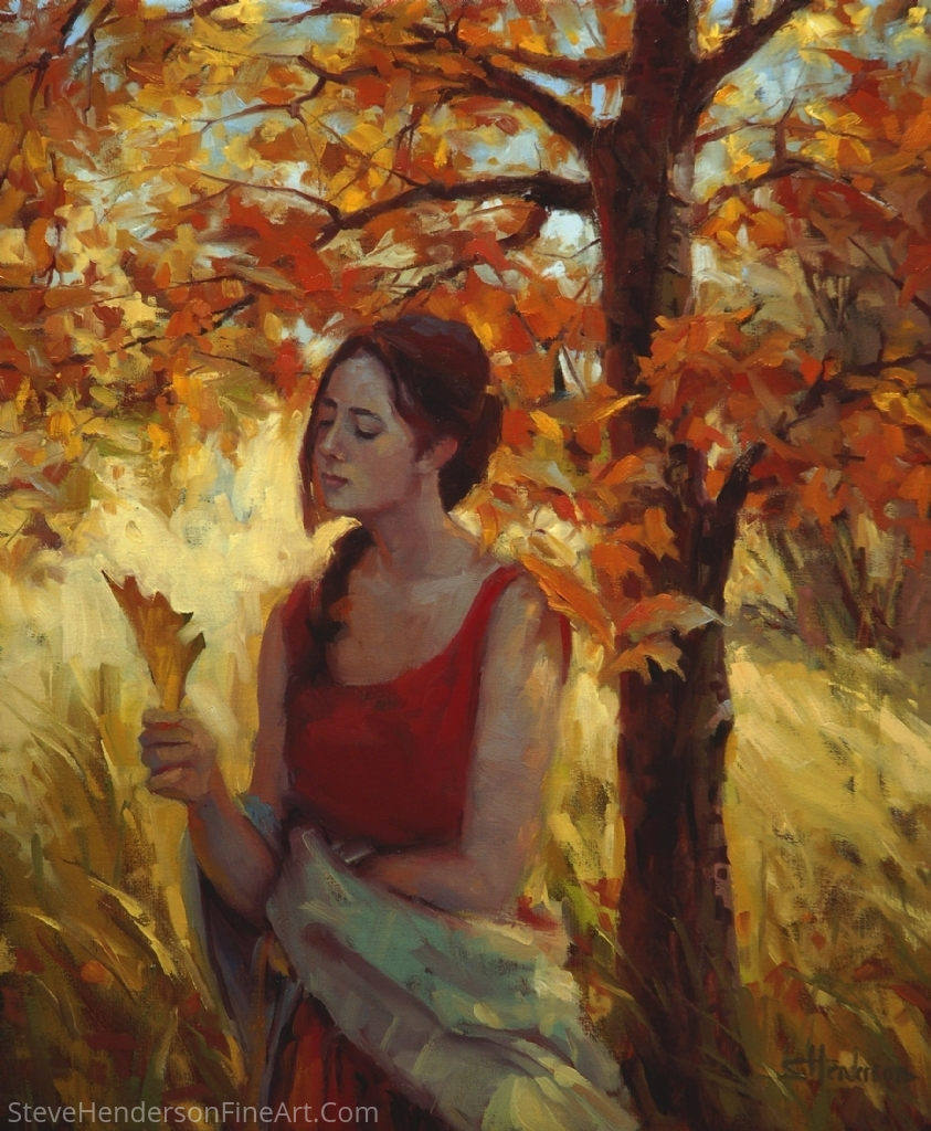 Contemplation by Steve Henderson Oil ~ 24 x 20
