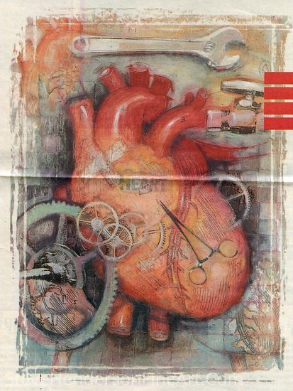 Heart Collage by Steve Henderson  ~  x