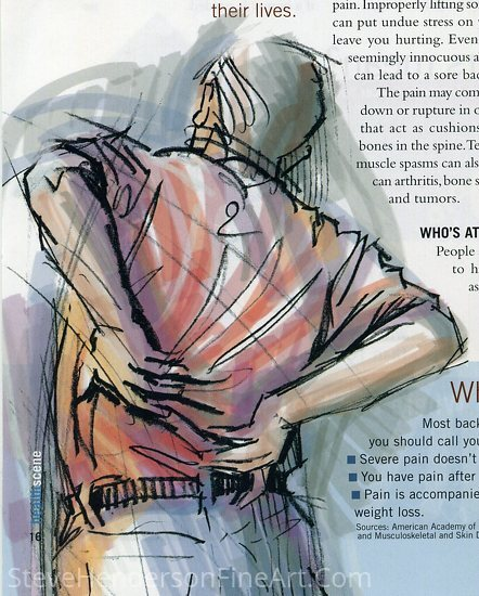 Back Pain by Steve Henderson  ~  x