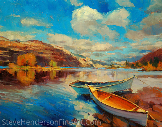Shore Leave by Steve Henderson Oil ~ 16 x 20