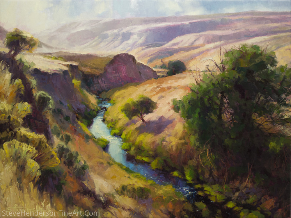 The Pataha -- Signed, Limited Edition Print by Steve Henderson  ~  x