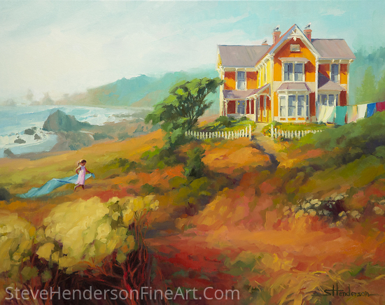 Wild Child by Steve Henderson Oil ~ 24 x 30