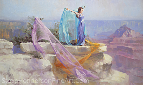 Diaphanous by Steve Henderson Oil ~ 24 x 40