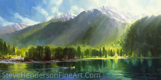 Peace -- Accepted to the 43rd National Western Art Auction - Oil