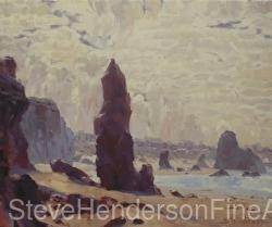 Ocean Spires by Steve Henderson