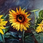 Pam Lendi - R Gallery Trees and Flowers Show
