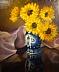 Sunflowers II by Carole Dowling