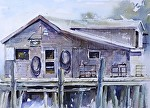 "Carlson's by Neil Walling Watercolor ~ 12"" x 16"""