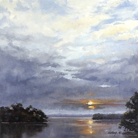 Lovers Key Sunrise - Oil
