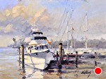 "Trawler by Neil Walling Oil ~ 9"" x 12"""