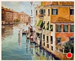 "The Grand Canal by Neil Walling Oil ~ 24"" x 30"""