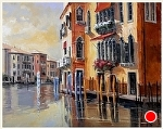 "Venetian Dawn by Neil Walling Oil ~ 24"" x 30"""