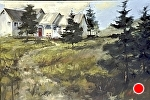"The Path Home by Neil Walling Oil ~ 24"" x 36"""