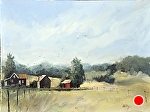 "Thoreson Farm by Neil Walling Oil ~ 18"" x 24"""