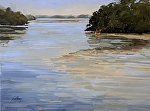 Low Tide by Neil Walling Oil ~ 18' x 24""
