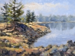 "Florida Lake"" by Neil Walling Oil ~ 18"" x 24"""