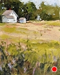 """Burfiend Farm"" by Neil Walling Oil ~ 10"" x 8"""