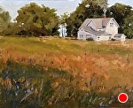 """Farm Fields"" by Neil Walling Oil ~ 20"" x 16"""