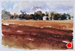 "Leelanau Homestead by Neil Walling Watercolor ~ 12"" x 16"""